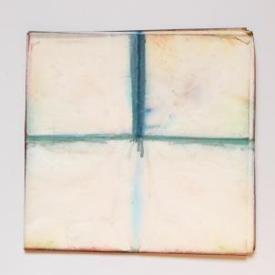 Partition 2- Pliée- 35x35- 2014- Natalia Jaime-Cortez